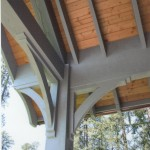 10 Exposed rafters timber bracket