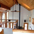 13 Loft and wood ceiling