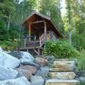 24 Modern Cabin Stone steps