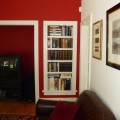 red room built ins