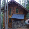 4 Shingle Cabin Stone veneer