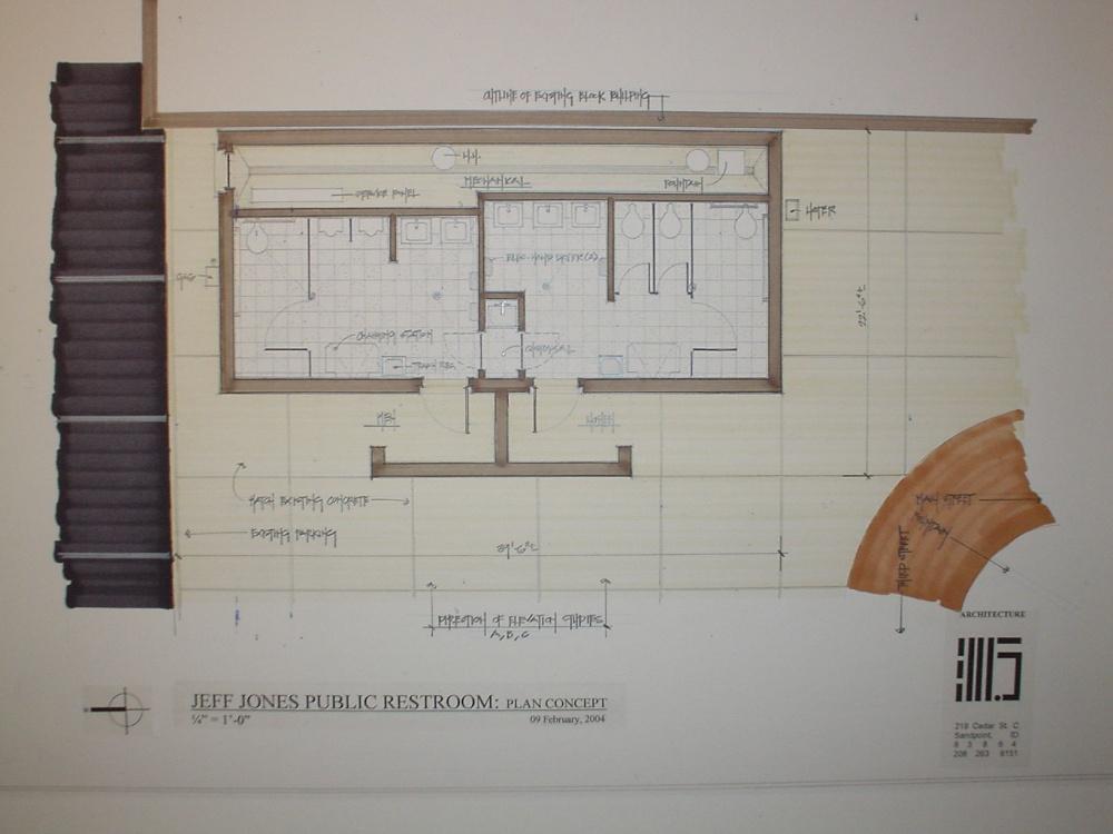 Ada bathroom floor plans 2017 2018 best cars reviews for Public restroom design plans