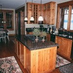 8 Knotty Alder kitchen