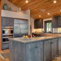 8 blue pine kitchen