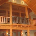 8 timberframe balcony