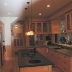 Kitchen Stone Counters wood