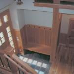 mudroom craftsman paneling